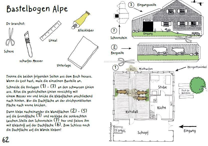 Alpe Bastelbogen_Seite 1