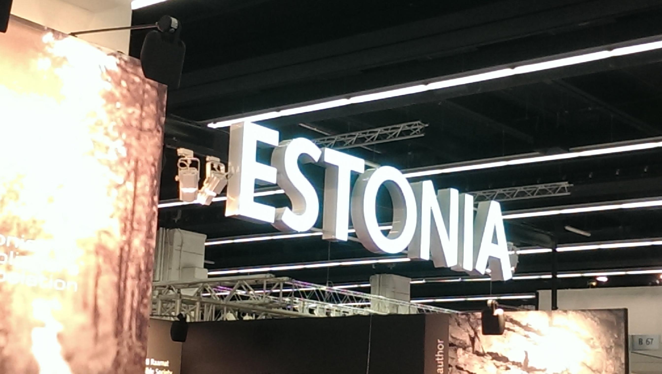 Estonia booth