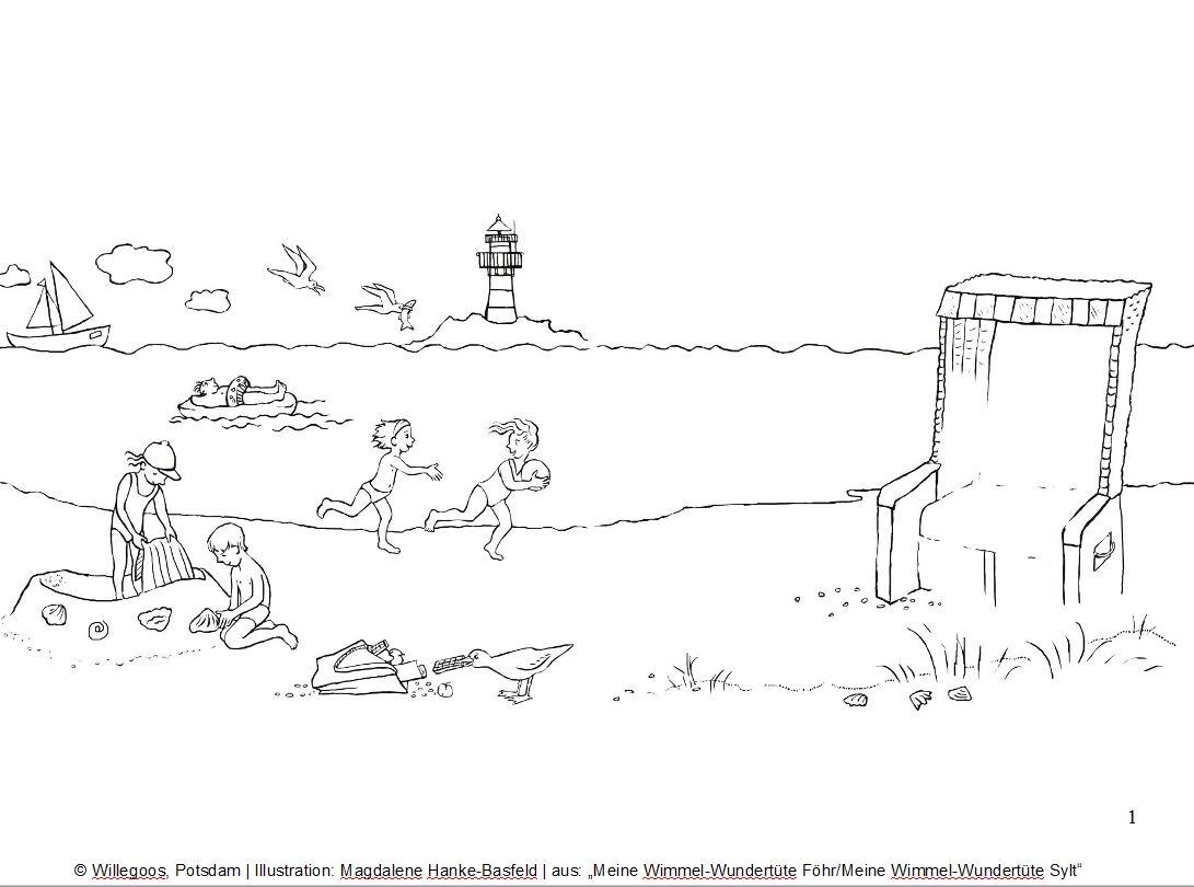 strandbildblog  willegoos verlag